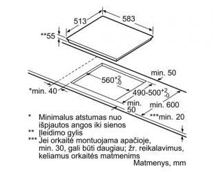 Įmontuojamas šaldytuvas LIEBHERR ICNP 3356