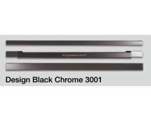 Rankenos Kuppersbusch 3001 Designkit Black Chrome