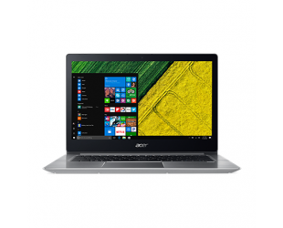 "Nešiojamas kompiuteris Acer Swift 3 SF314-52 Silver 14""FHD i3-7100U 4GB 128GB SSD Windows 10"