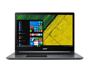 "Nešiojamas kompiuteris Acer Swift 3 SF315-51 Silver 15.6""FHD i5-7200U 8GB 256GB SSD Windows 10"
