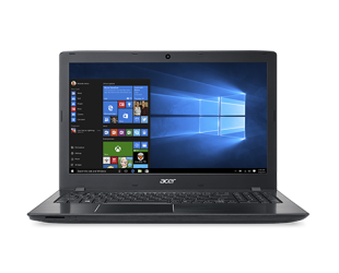 "Nešiojamas kompiuteris Acer Aspire E E5-576G Black 15.6""FHD i3-6006U 4GB 256GB SSD NVIDIA GeForce 940MX 2GB Windows 10"