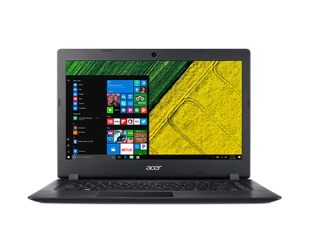 "Nešiojamas kompiuteris Acer Aspire 1 A114-34 Black 14""HD N4200 4GB 64GB eMMC Windows 10"