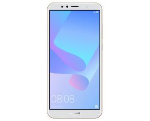 """Išmanusis telefonas HUAWEI Y6 2018 5.7"""" 16 GB, geltonas/baltas"""