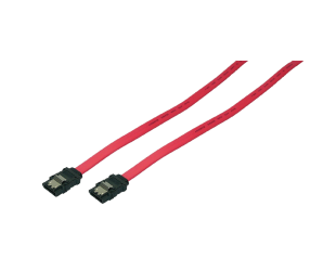 Adapteris Logilink LogiLink internal S-ATA HDD cable 2x male red. 0.50 m