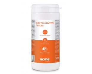 Servetėlės Acme CL41 Surface Cleaning Wipes - 100pcs