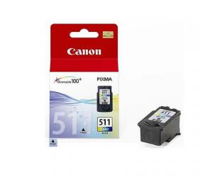 Rašalo kasetė Canon CL-511 Tri-Colour, Cyan, Magenta, Yellow