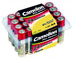 Baterijos Camelion LR6-PB24 AA/LR6, Plus Alkaline, 24 vnt