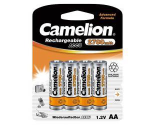 Baterija Camelion AA/HR6, 2700 mAh, Rechargeable Batteries Ni-MH, 4 vnt