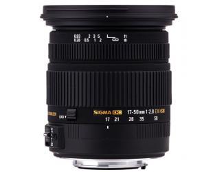 Objektyvas Sigma EX 17-50mm F2,8 DC (OS)* HSM Canon