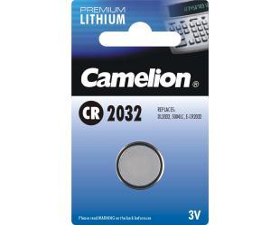 Barterijos Camelion CR2032, Lithium, 1 vnt