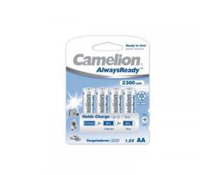 Baterijos Camelion AA/HR6, 2300 mAh, AlwaysReady įkraunamos Ni-MH, 4 vnt