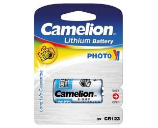 Baterija Camelion CR123A, Lithium, 1 vnt
