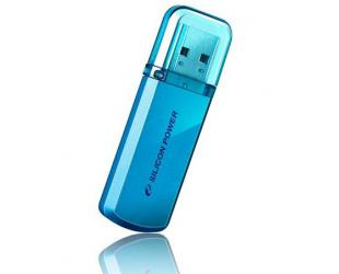 USB raktas Silicon Power Helios 101 8GB USB 2.0 Blue