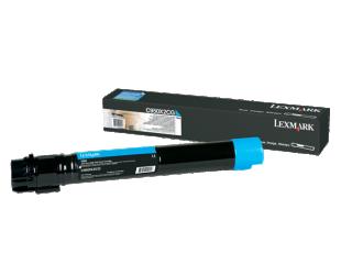 Toneris Lexmark C950X2CG, Cyan, 22000 puslapių
