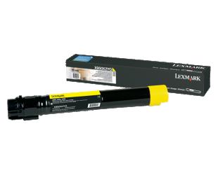 Toneris Lexmark X950X2YG, Yellow, 22000 puslapių