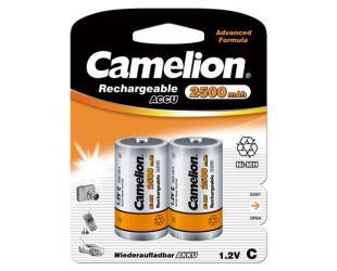 Baterijos Camelion C/HR14, 2500 mAh, įkraunamos Ni-MH, 2 vnt