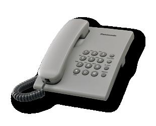Telefonas Panasonic KX-TS500FXH Grey,