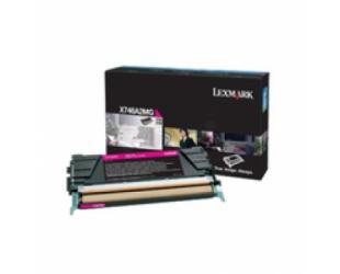 Toneris Lexmark X746A3MG, Magenta, 7000 puslapių