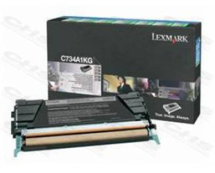 Toneris Lexmark X748H3YG Cartridge, Yellow, 10000 pages