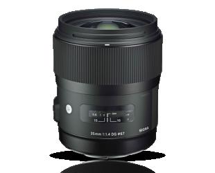 Objektyvas Sigma 35mm F1.4 DG HSM Canon [ART]