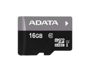 Atminties kortelė ADATA Premier UHS-I 16GB Micro SDHC CL10 su SD adapteriu