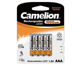 Baterijos Camelion AAA/HR03, 1000 mAh, įkraunamos Ni-MH, 4 vnt