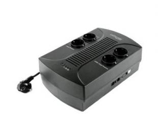 Nepertraukiamo maitinimo šaltinis EnerGenie UPSWith AVR 650VA, 390W, 220 V