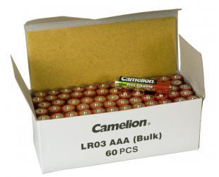 Baterija Camelion AAA/LR03, Plus Alkaline, 60 vnt
