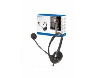 Ausinės Logilink Stereo įstatomos į ausis, su mikrofonu