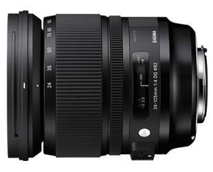 Objektyvas Sigma 24-105mm F4.0 DG OS HSM* Canon [ART]
