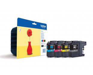 Rašalo kasetė Brother LC-121 Multipack, Black, Cyan, Magenta, Yellow