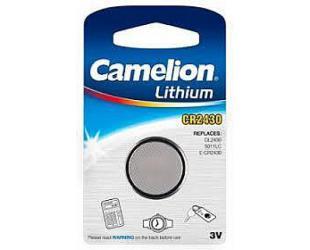 Baterija Camelion CR2430-BP1 CR2430, Lithium, 1 vnt