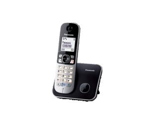 Telefonas Panasonic KX-TG6811FXB Black, Caller ID, Wireless connection, Phonebook capacity 120 entries, Conference call, Built-in display, Speakerphone