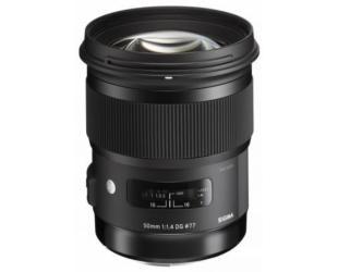 Objektyvas Sigma 50mm F1.4 DG HSM Nikon [ART]