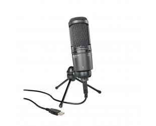Mikrofonas Audio Technica Turntable AT2020USB Black