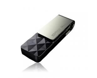 USB raktas Silicon Power Blaze B30 64GB USB 3.0 Black