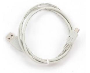 Kabelis Cablexpert CC-USB2-AM5P-6 USB A, Mini-USB B, 1.8 m, White
