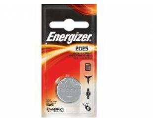 Baterijos Energizer CR2025, Lithium, 1 vnt