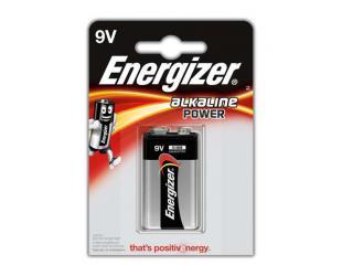Baterijos Energizer 9V/6LR61, Alkaline Power, 1 vnt