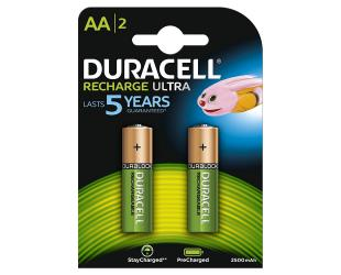 Baterijos Duracell AA/HR6, 2500 mAh, įkraunamos Accu Stay Charged Ni-MH, 2 vnt