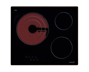 Kaitlentė CATA Hob TT 603 Vitroceramic Hob, Number of burners/cooking zones 3, Touch, Black