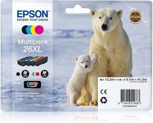 Rašalo kasetė Epson Claria Premium Multipack 4-colours 26XL