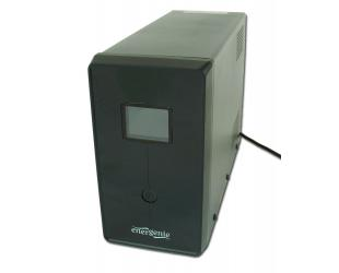 Nepertraukiamo maitinimo šaltinis EnerGenie UPS with USB and LCD display, Black 1200 VA, 720 W
