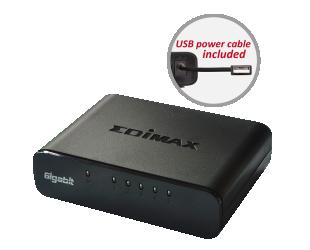 Komutatorius (Switch) Edimax ES-5500G V3 Unmanaged