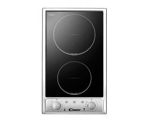 Kaitlentė Candy CDH 32/1X Vitroceramic, Number of burners/cooking zones 2, Black,