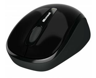 Belaidė pelė Microsoft 3500 Black
