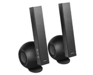 Kolonėlės Edifier e10BT Exclaim Connect Speaker type 2.0, 3.5mm/Bluetooth, Black/grey, 36 W