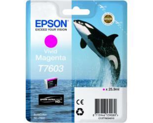 Rašalo kasetė Epson T7603, Magenta