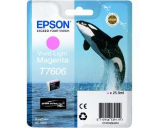 Rašalo kasetė Epson T7606, Light Magenta