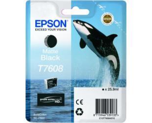 Rašalo kasetė Epson T7608, Matte Black